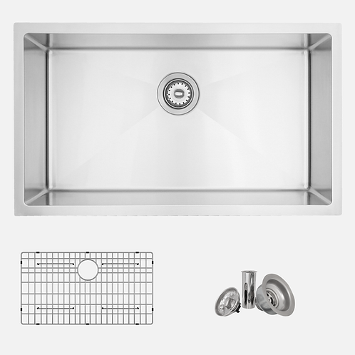 STYLISH 31'' VALENCIA S-402G Single Bowl Kitchen Sink