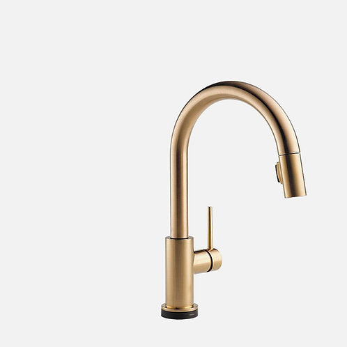 DELTA Trinsic Pull Down Kitchen Faucet with Touch Sensor