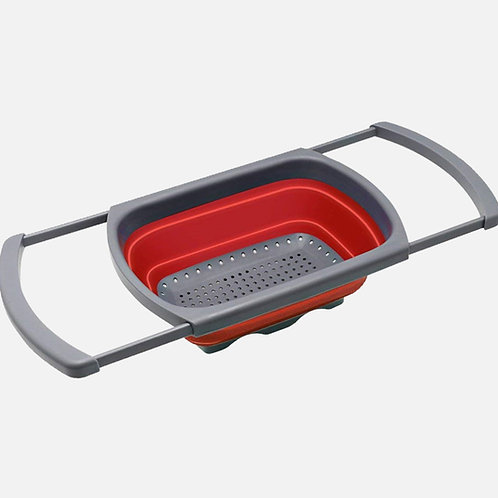 COLLAPSIBLE OVER THE SINK COLANDER A-905
