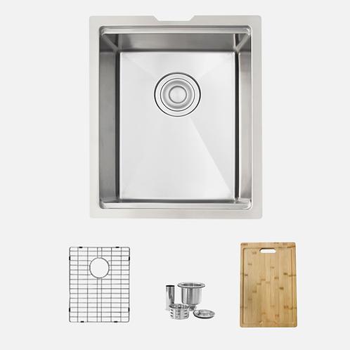 STYLISH 15'' Versa25 S-610W Workstation Single Bowl Kitchen Sink