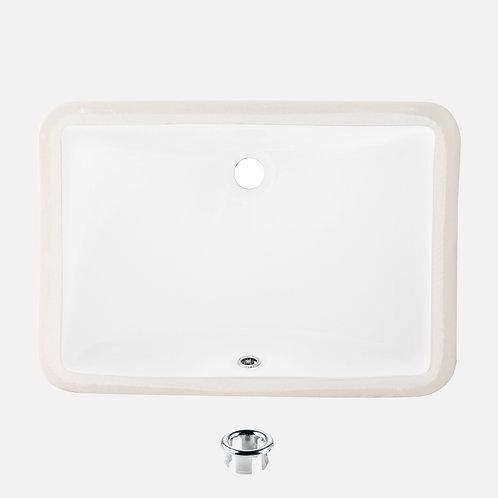 STYLISH 21'' Undermount Bathroom Sink SHARP P-203