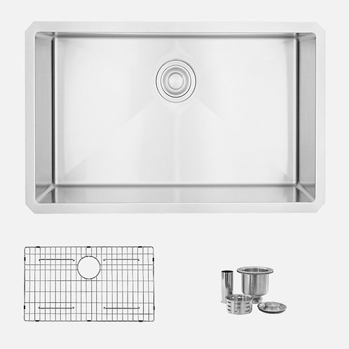 STYLISH 30'' ZAFIRO S-311XG Single Bowl Kitchen Sink
