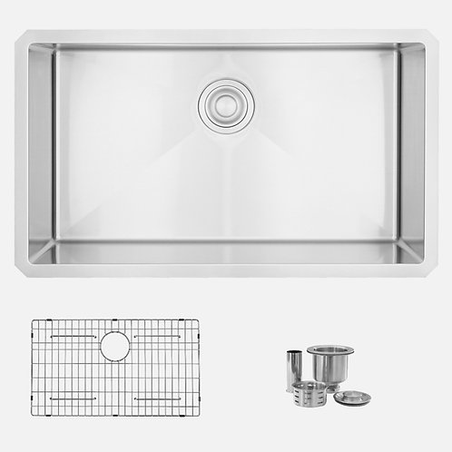 STYLISH 32'' RUBY S-323XG Single Bowl Kitchen Sink