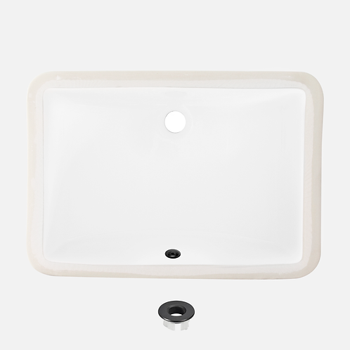 STYLISH 21'' Undermount Bathroom Sink SHARP P-203A