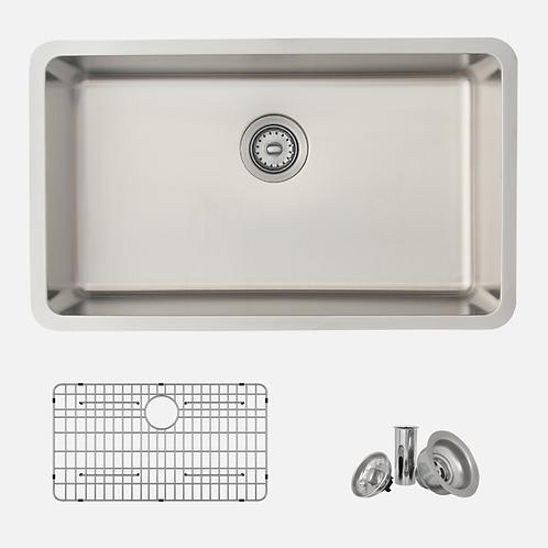 STYLISH 29'' MALAGA S-411TG Single Bowl Kitchen Sink