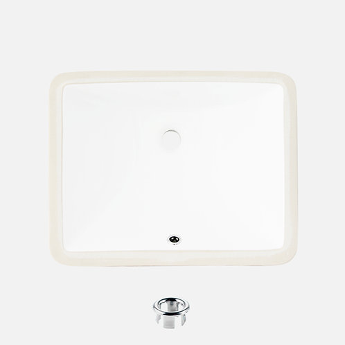 STYLISH 18'' Undermount Bathroom Sink TRENDY P-201