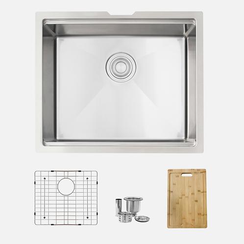 STYLISH 22'' Versa22 S-622W Workstation Single Bowl Kitchen Sink