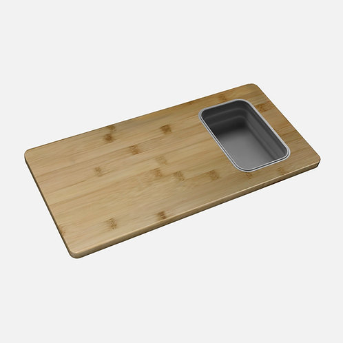 STYLISH WORKSTATION CUTTING BOARD WITH 1 CONTAINER A-912