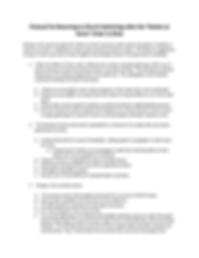 Microsoft Word - Protocol for Returning