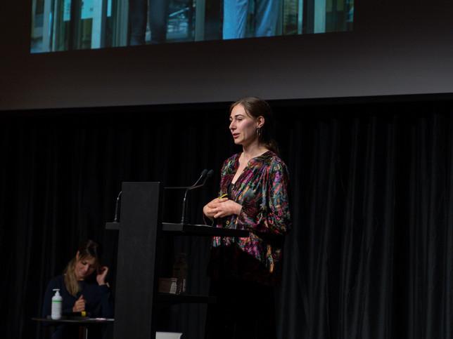 Alicia Dubuis, finaliste Prix Art Humanité 2020 ©Julien Gremaud