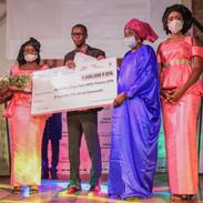 Amidou Badji, 2ème lauréat du PAH de Dakar et Bafou Ba