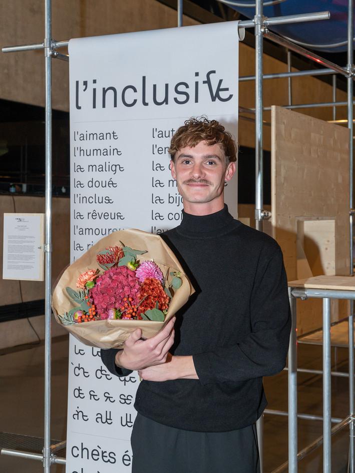 Tristan Bartolini, Prix du Jury Prix Art Humanité 2020 ©Julien Gremaud