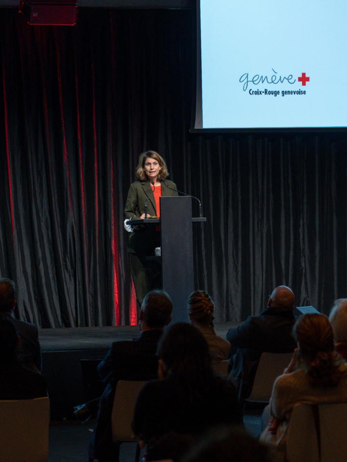 Christina Kitsos, Conseillère administrative Prix Art Humanité 2020 ©Julien Gremaud