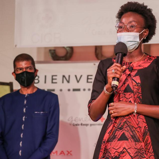 Discours de Fatou Sene, lauréate du Prix du Public