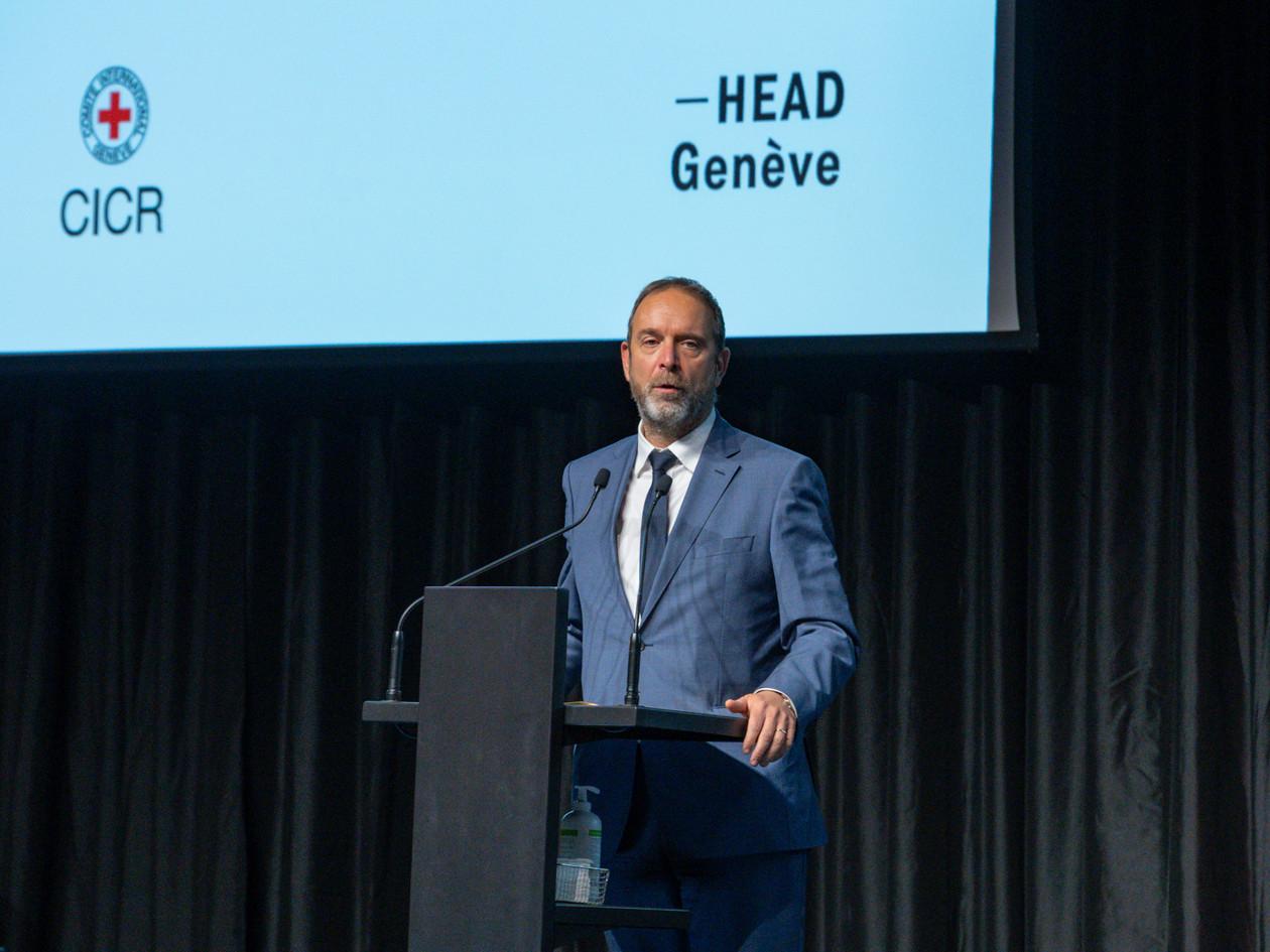 Thierry Apothéloz, Conseiller d'Etat Prix Art Humanité 2020 ©Julien Gremaud