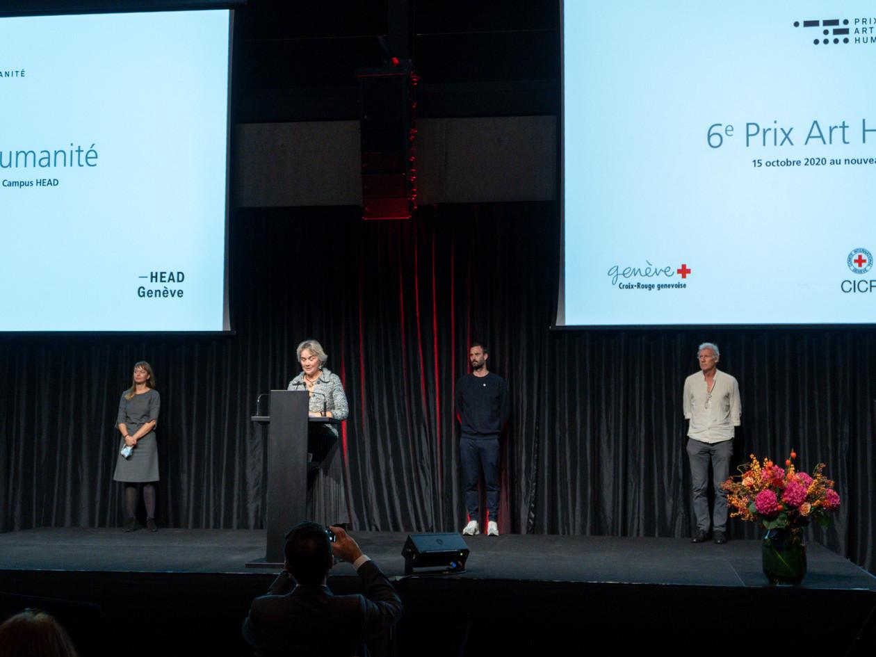 Jury Prix Art Humanité 2020 ©Julien Gremaud