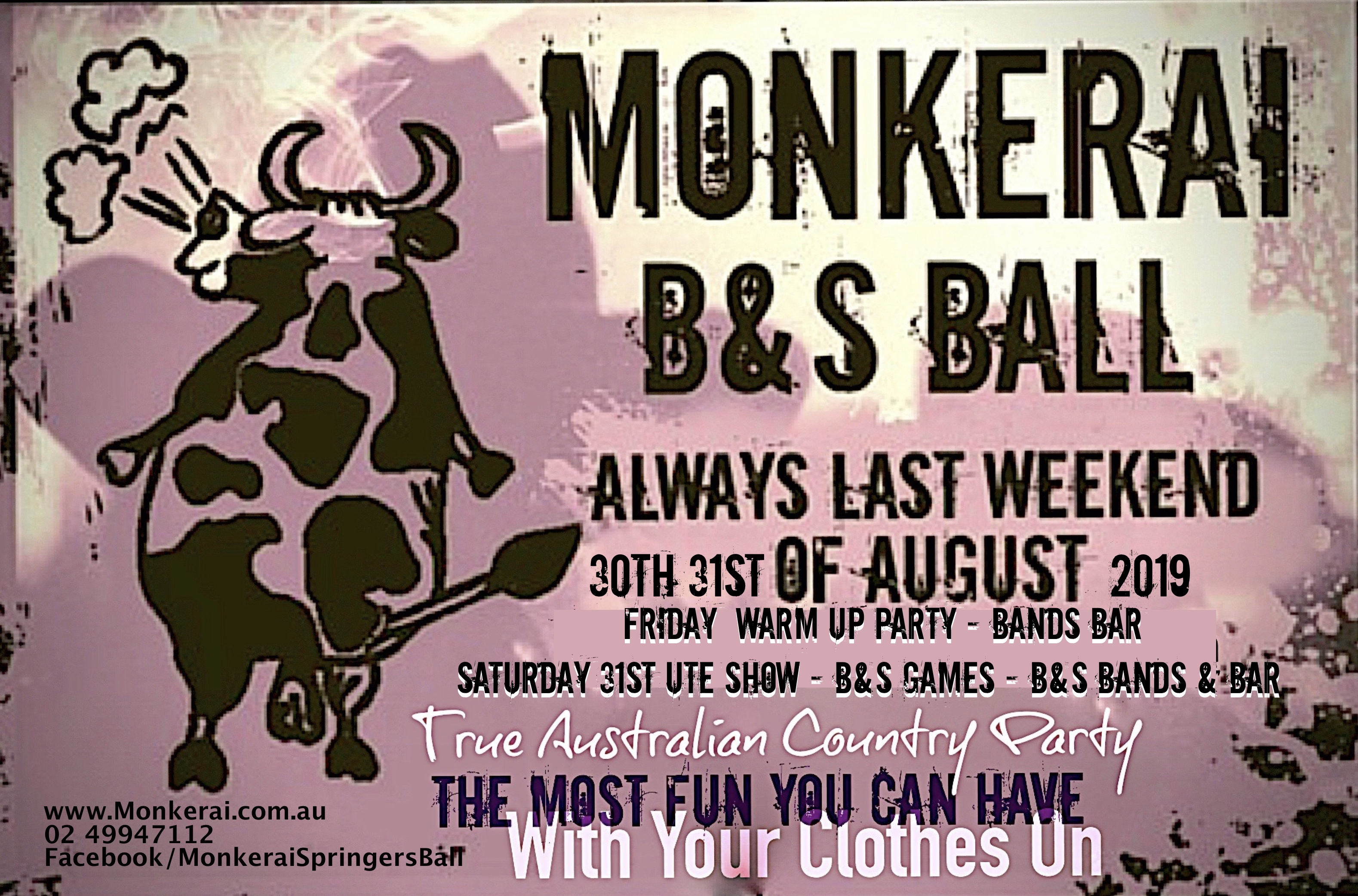 Monkerai BnS flyer 2019
