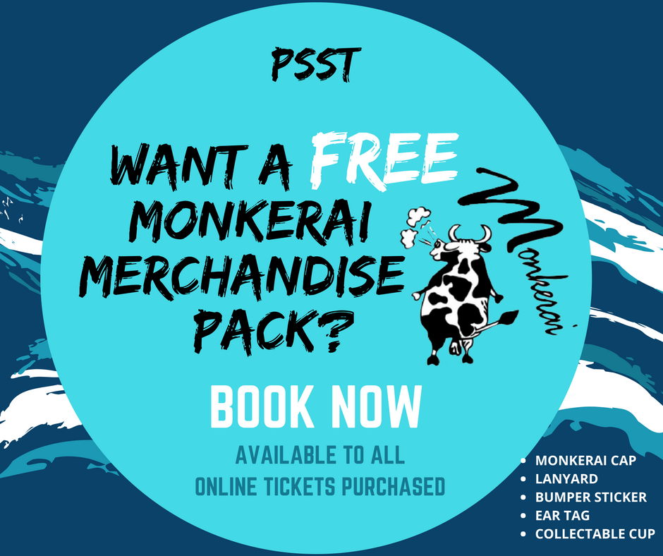 FREE MONKERAI MERCHANDISE PACK