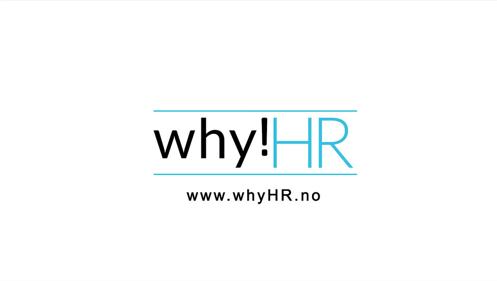 The purpose of why!HR