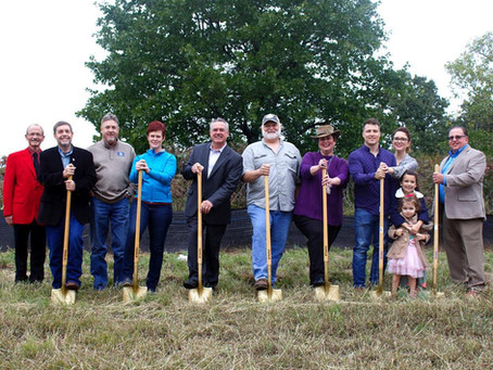 Brewery Breaks Ground, Celebrates Coming to Duncan