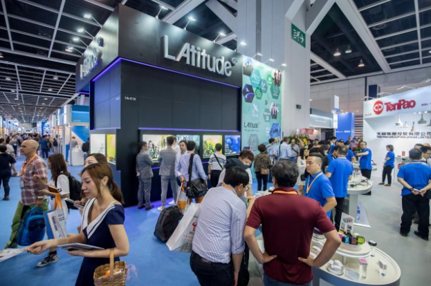 The Hall of Fame at the Autumn Electronics Fair gathers the latest electronics products from more than 550 top international brands. Photo©HKTDC