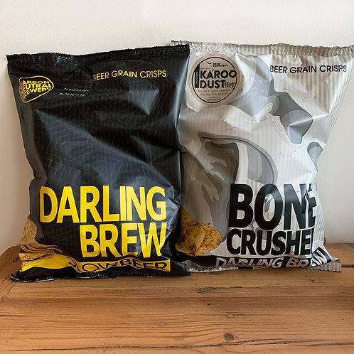 Darling Brew Beer Crisps 125g