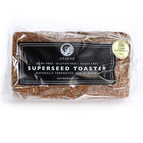 Hannams Superseed Buckwheat Bread