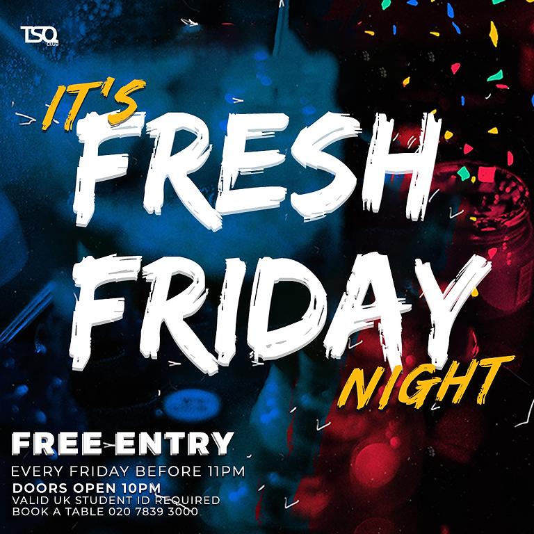 Fresh Friday: Student Night