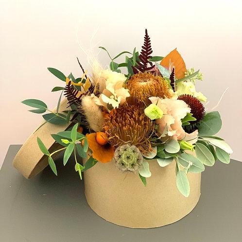 """Boîte de fleurs """"Orange"""""""