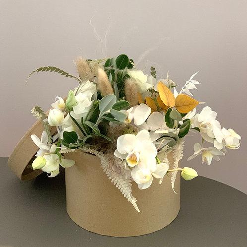 """Boîte de fleurs """"Blanc"""""""