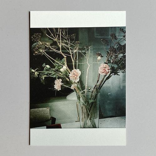 """Carte de voeux """"Vase avec fleurs"""""""