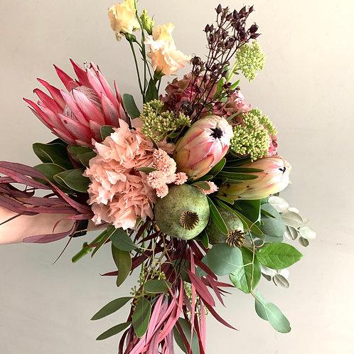 """Bouquet """"Protéa rose"""""""