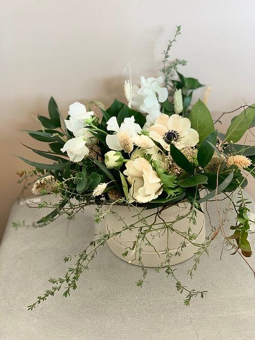 "Boîte de fleurs ""White Flowers"""