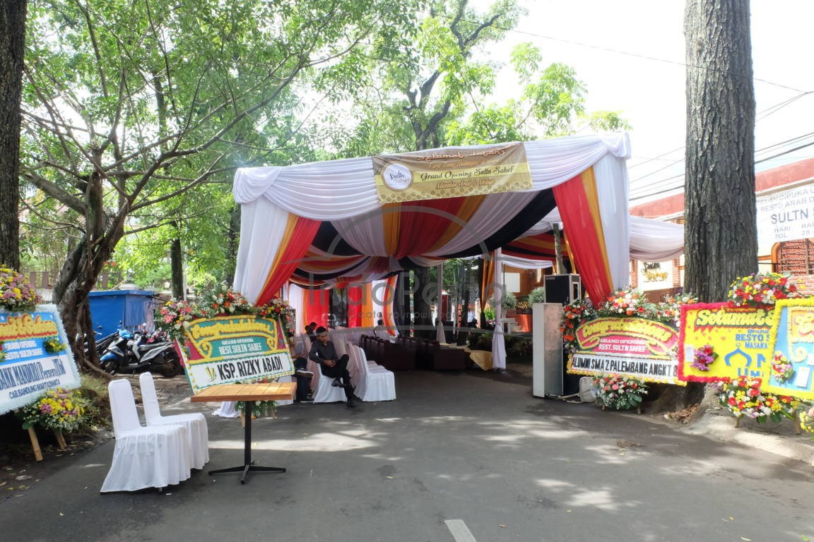 Peresmian Resto Sultn Sahef