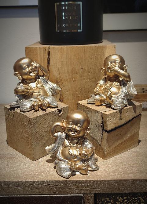 Set de 3 Bouddha rieur