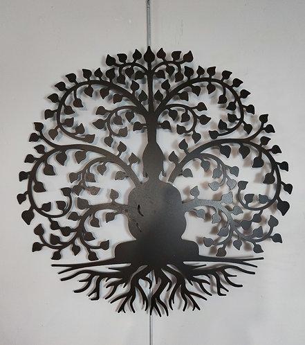 Décoration murale arbre bouddha