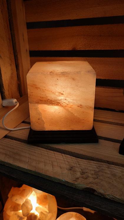Lampe de sel carré