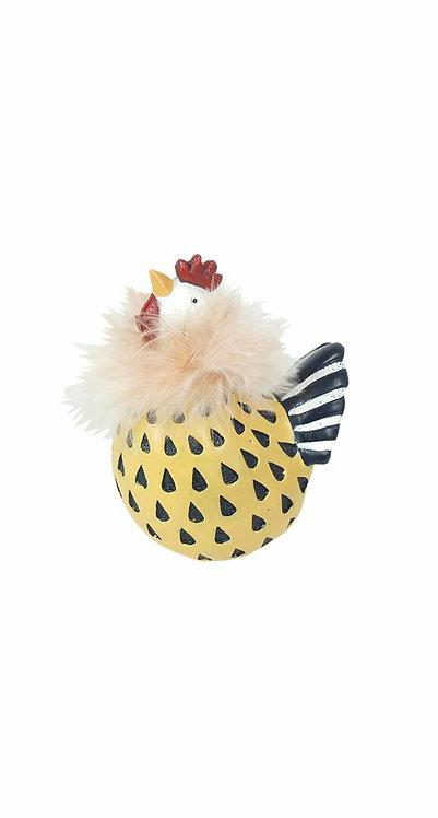 Poule jaune