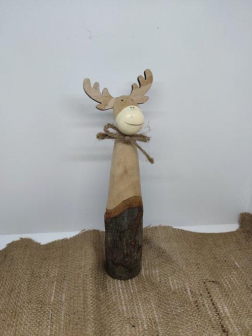 Cerf en bois