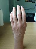 Esthétique de main personnalisée en silicone