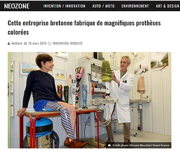 article neozone algo orthopedie