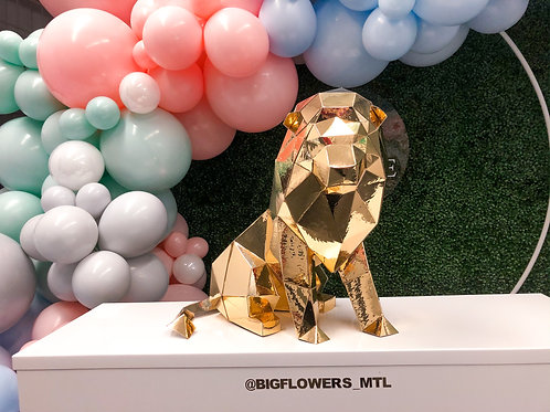 Geo - Lion (gold centerpiece)