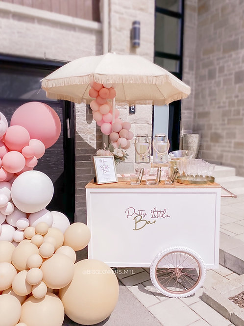 Sweet Candy Cart + Umbrella