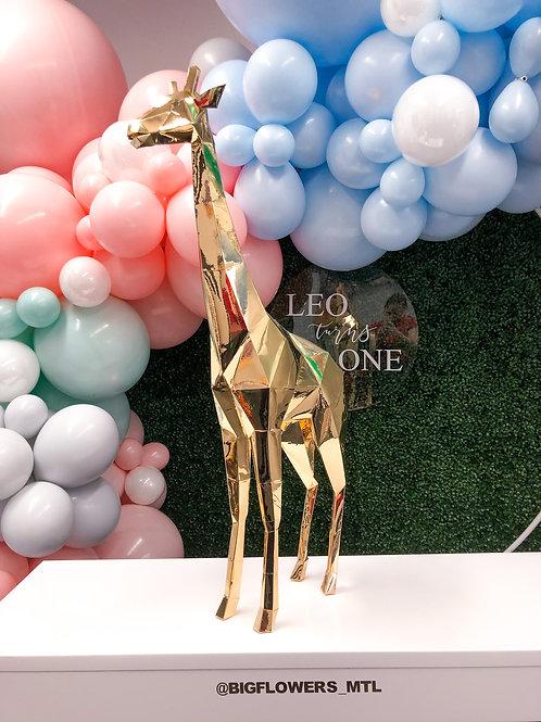 Geo - Giraffe (gold centerpiece)