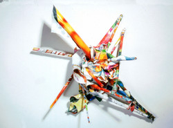 Untitled (Paper Sculpture)