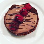 Chocolate Coconut Greek Yogurt Cookie Tart
