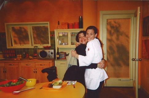 Rachel Ray and Chef Jenn