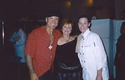 Pat Benatar and Chef Jenn