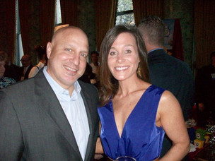 Tom Colicchio and Chef Jenn