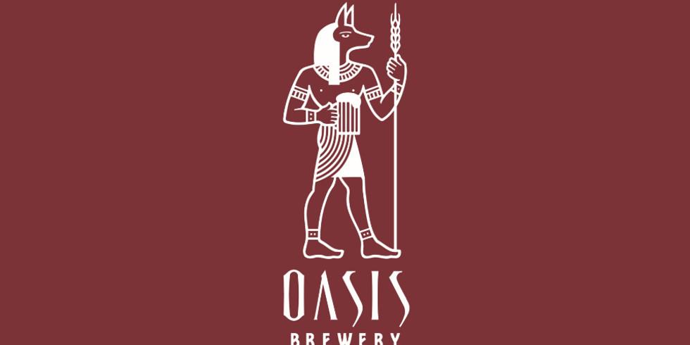 Oasis Brewing Company + Koi & Ninja